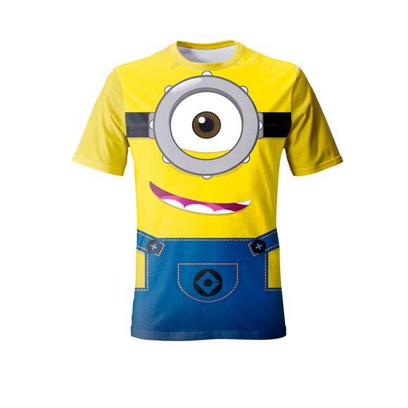 956a3381ef Camiseta Os Minions - Stuart 2 - Camisetas e Festas - Camisetas para ...