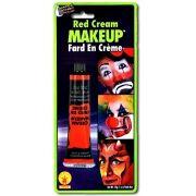 Maquiagem em creme vermelho