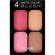 Paleta de blush matte 4 cores Nicka New York CBM03