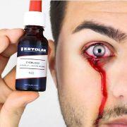 Sangue para olhos  vermelho artificial Kryolan 20 ml