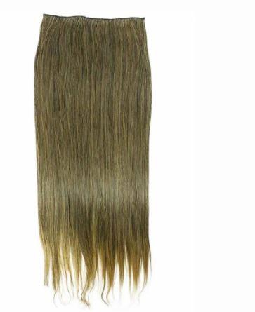Aplique de cabelo liso orgânico com tic tac