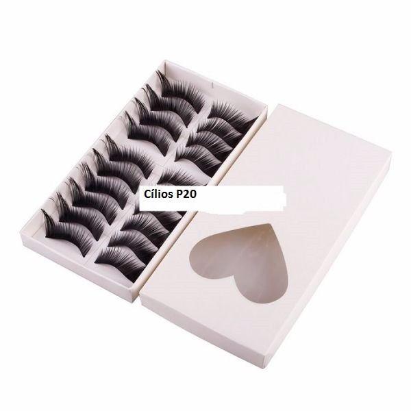 Caixa de Cílios postiços c/ 10 unidades P20