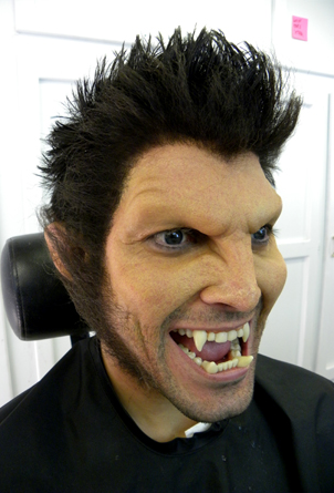 Crepe Hair -Cabelo crepe de lã para bigodes falsos e Pêlos faciais-  Verde