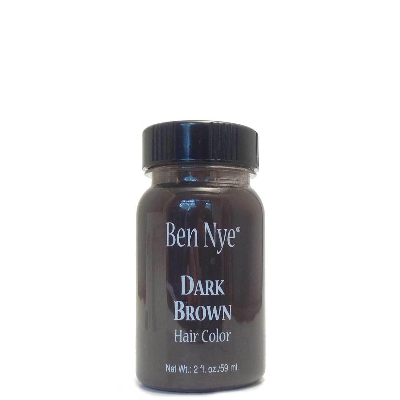 Hair Color( maquiagem para cabelo) castanho escuro Ben Nye- 59ml