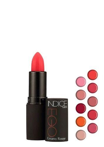Indice Tokyo Ego Creamy Rouge 01 Rouge - Batom Cremoso 3,8g