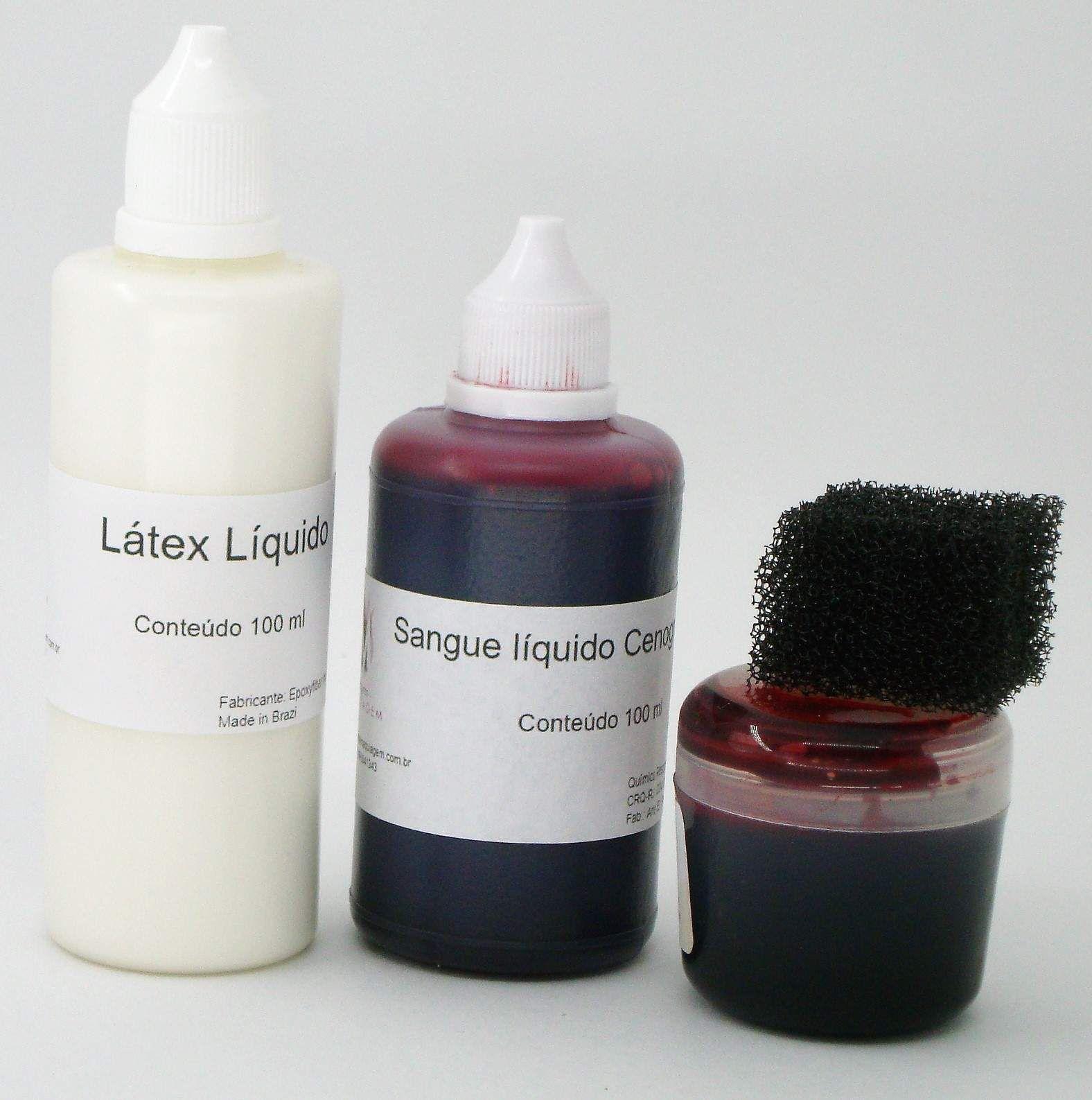 Kit de maquiagem efeitos especiais