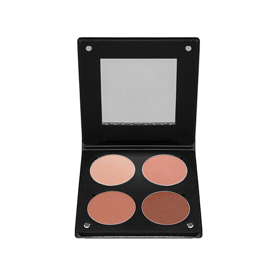 Paleta de Blush 3D Beige Orange Atelier Paris