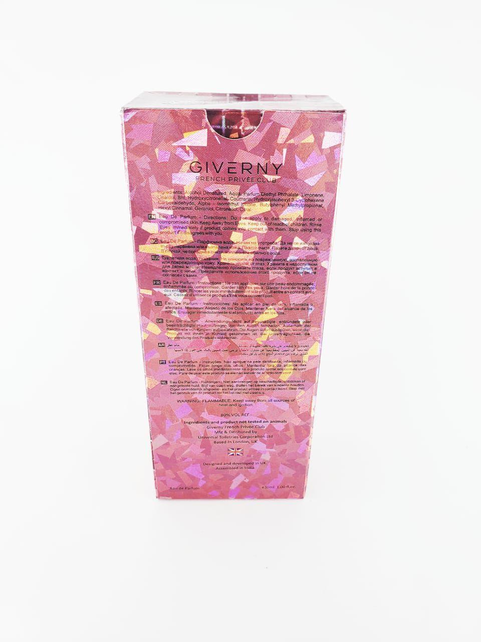 Perfume Giverny elegance feminino 30 ml