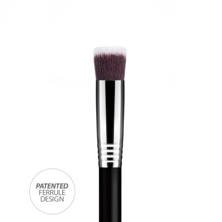 Pincel kabuki soft médio reto daymakeup F60