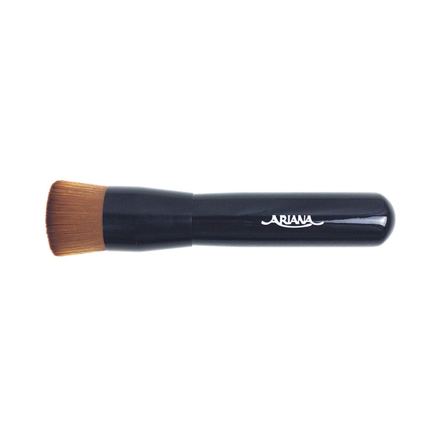Pincel maquiagem para aplicação de base Ariana 737