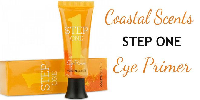 Primer para olhos coastal Scents + Glitter de Brinde