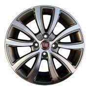 Jogo 4 Rodas BRW BRW-1380 Fiat Toro aro 14 4 x 98 tala 6 diamante grafite ET40