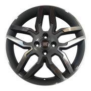 Jogo 4 rodas Zunky ZK-530 Idea Sport Aro 15 furação 4x98 diamante grafite tala 6 ET 42