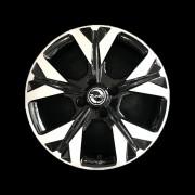 Jogo 4 rodas Zunky ZK-850 (Onix 2020) R15 4x100 BD tala 6 ET 40