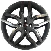 Jogo com 4 rodas Zunky ZK-530 Idea Sport aro 15 4x98 Diamante Grafite tala 6 ET-40