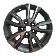 Jogo com 4 rodas Zunky ZK-845 Creta Prestige aro16 5 x 114 diamante preto tala 6 ET 40