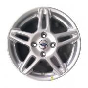 Jogos 4 rodas Original Ford aro 15 4x108 Prata Tala 6 ET 47,5