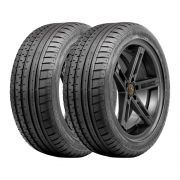Kit 2 Pneus Continental Aro 17 225/45R17 ContiSportContact 2 Run Flat 91W