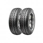 Kit 2 Pneus Ling Long Aro 15 205/70R15 R-666 8 Lonas 106/104S