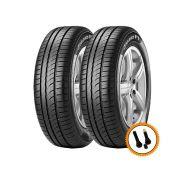 Kit 2 Pneus Pirelli Aro 15 185/65R15 Cinturato P1 88H + Brinde