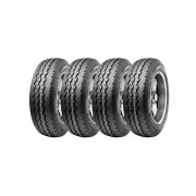 Kit 4 Pneus Ling Long Aro 15 205/70R15 R-666 8 Lonas 106/104S