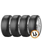 Kit 4 Pneus Pirelli Aro 16 195/50R16 Cinturato P7 84V + Válvulas