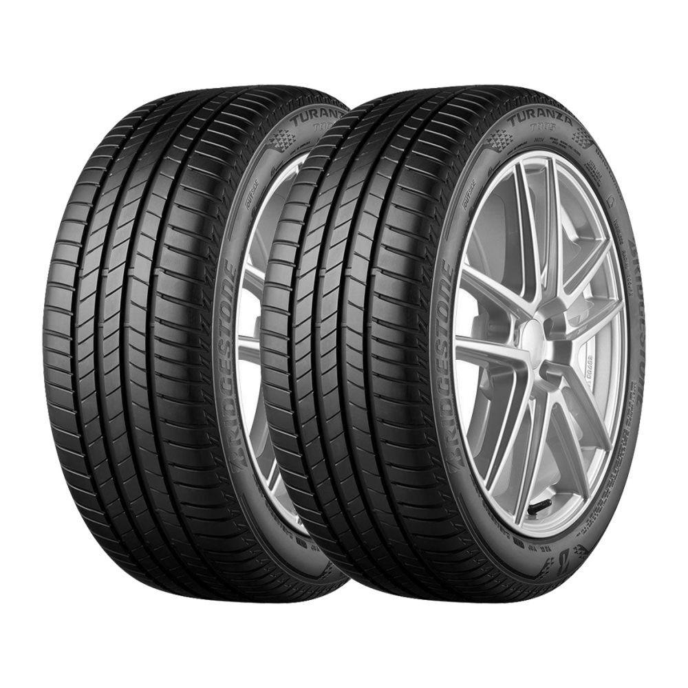 Kit 2 Pneus Bridgestone Aro 17 225/45R17 Turanza T005 91W