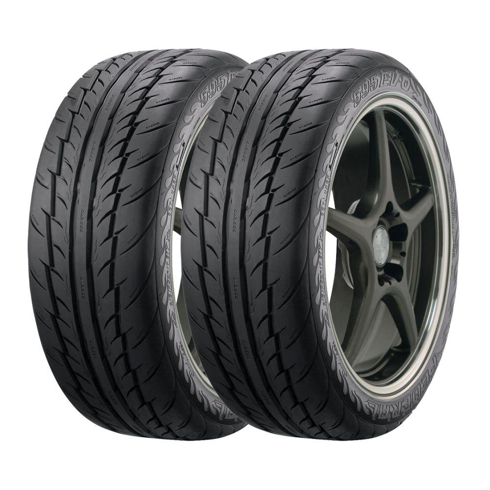 Kit 2 pneus Federal 595 Evo Aro 19 255/35R19 96Y Fabricação 2011
