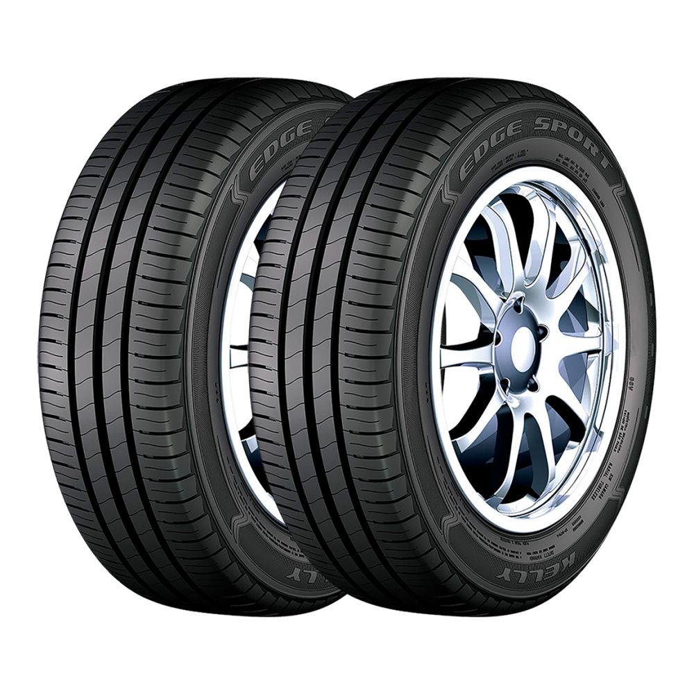 Kit 2 Pneus Goodyear Aro 15 195/60R15 Kelly Edge Sport 88V