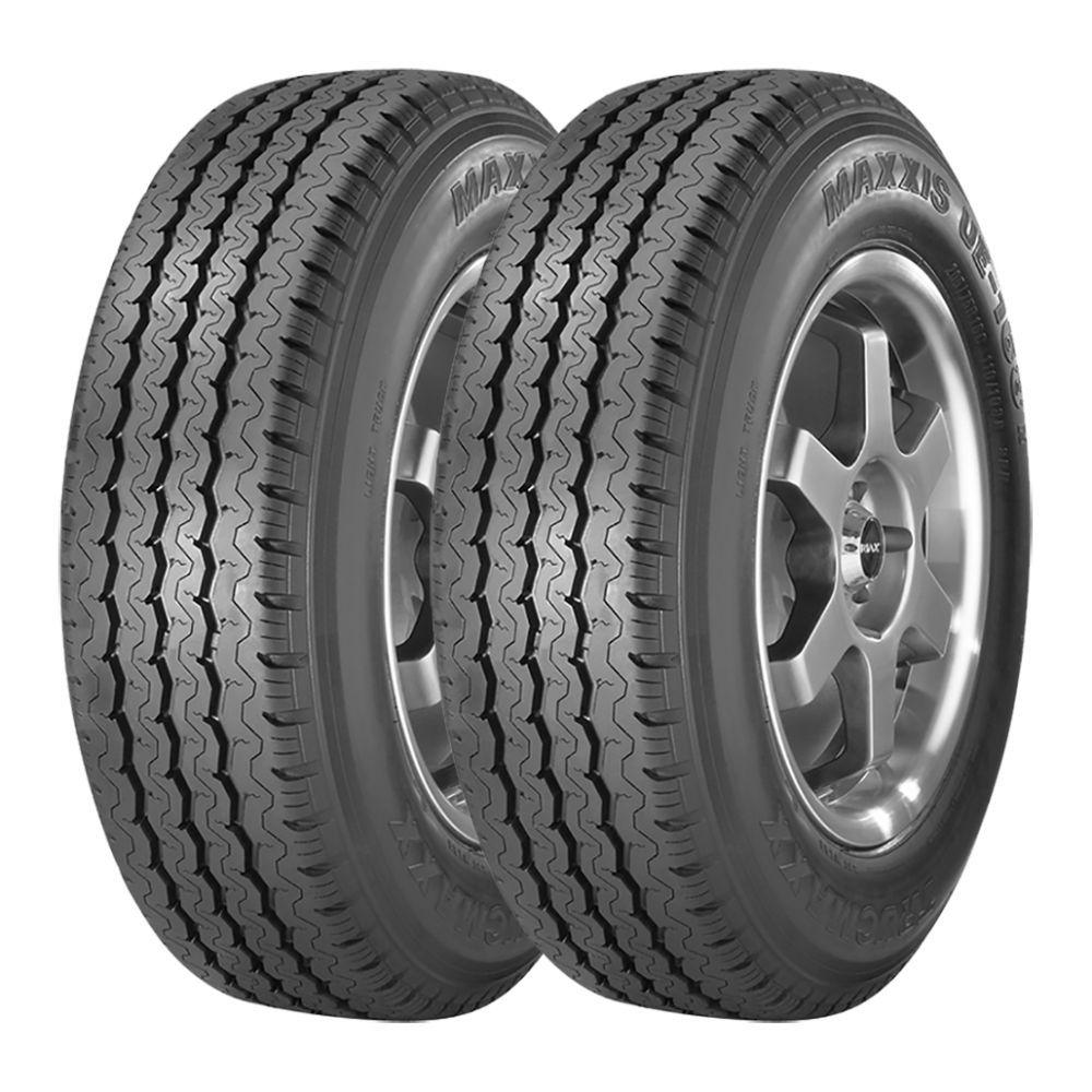 Kit 2 pneus Maxxis UE-168 Aro 16 195/75R16 107/105R 8PR Fabricação 2012