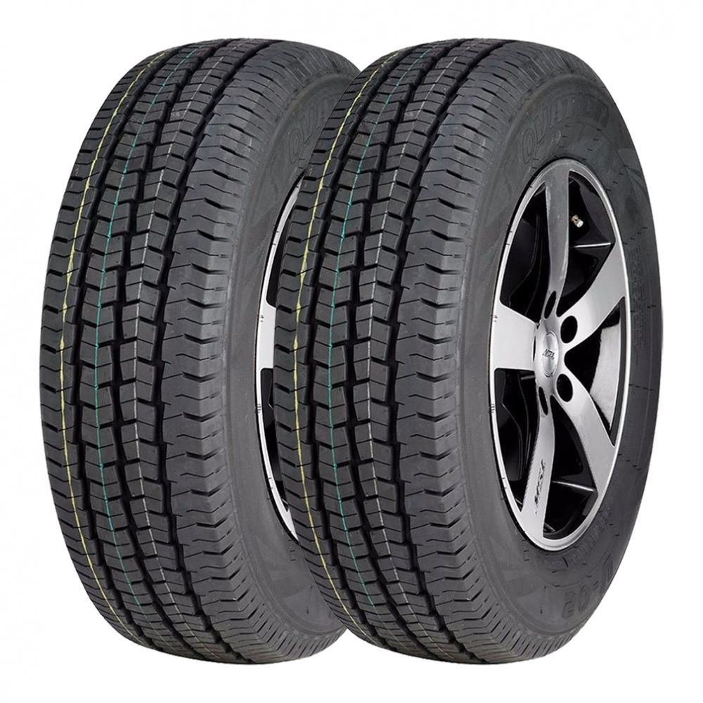 Kit 2 Pneus Ovation Aro 16 195/75R16 V-02 107/105R
