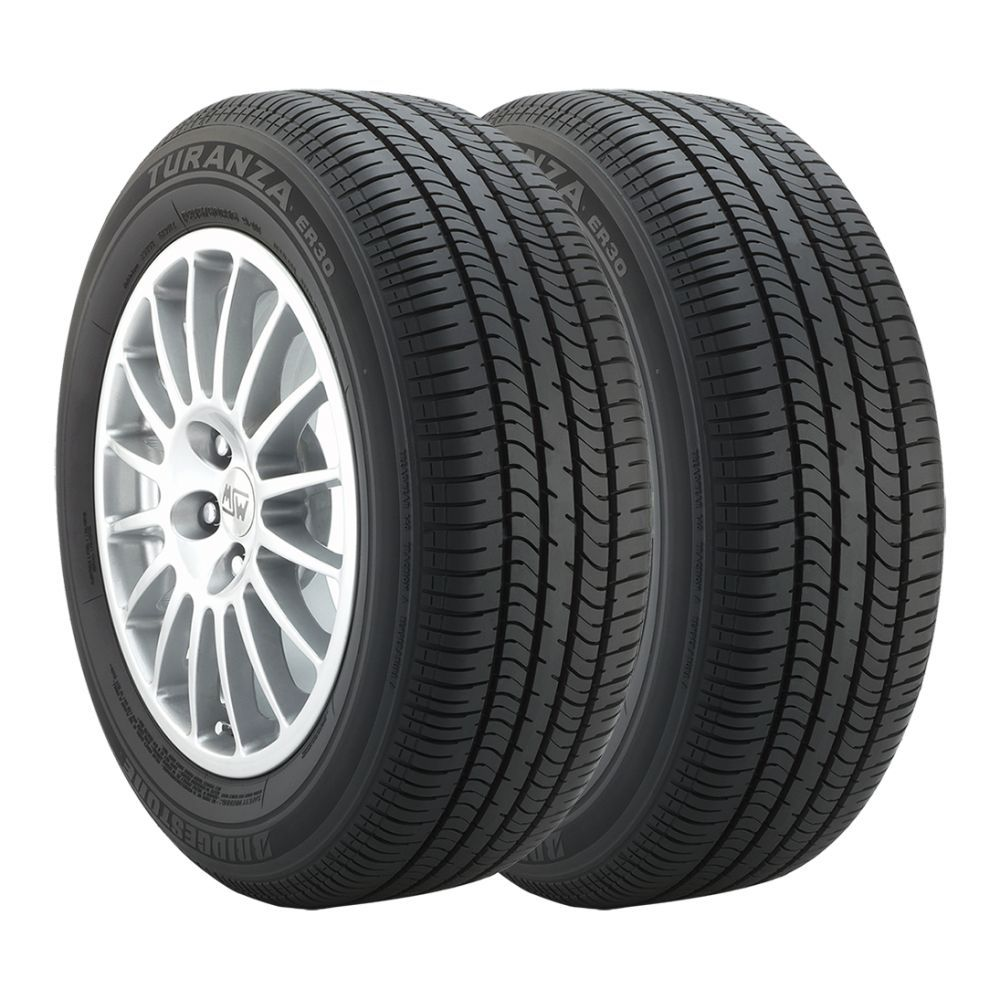 Kit 2 Pneus Para Ford Ka Bridgestone Aro 15 195/55R15 Turanza ER30 85H