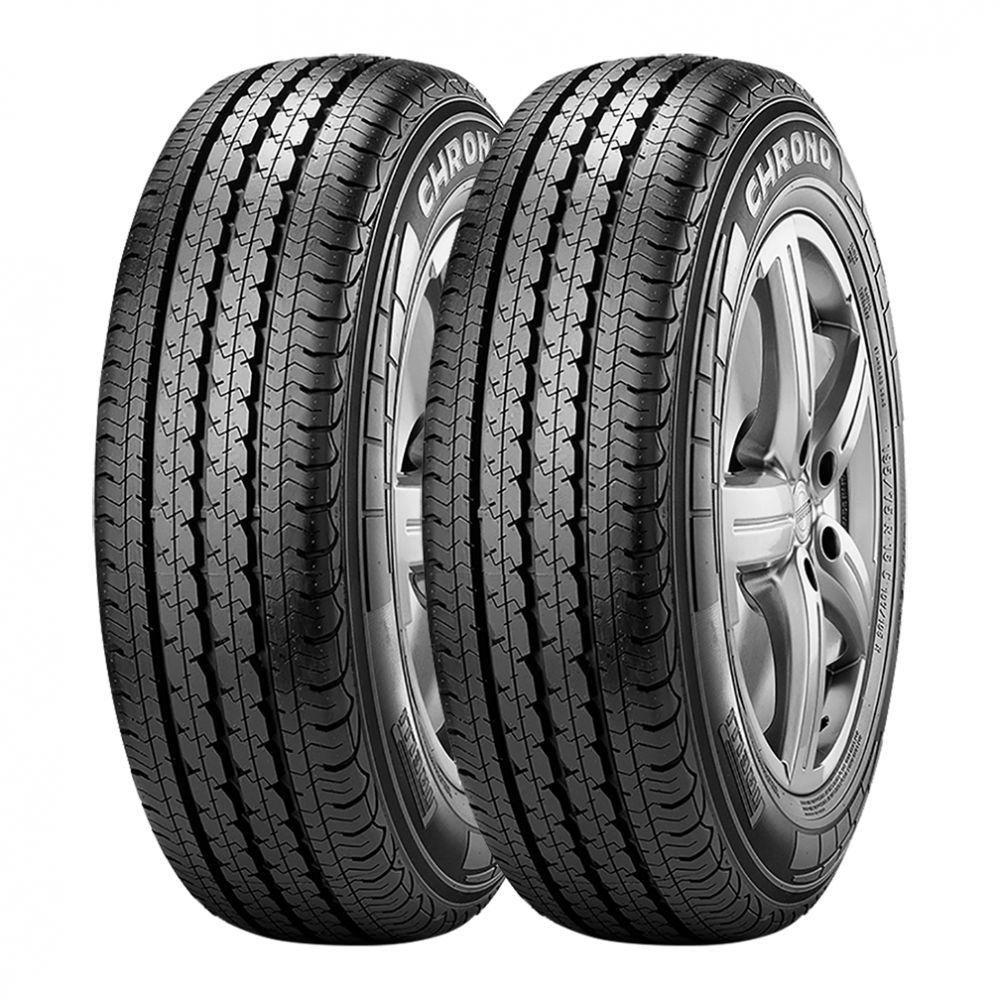 Kit 2 Pneus Pirelli Aro 16 205/75R16 Chrono 110/108R