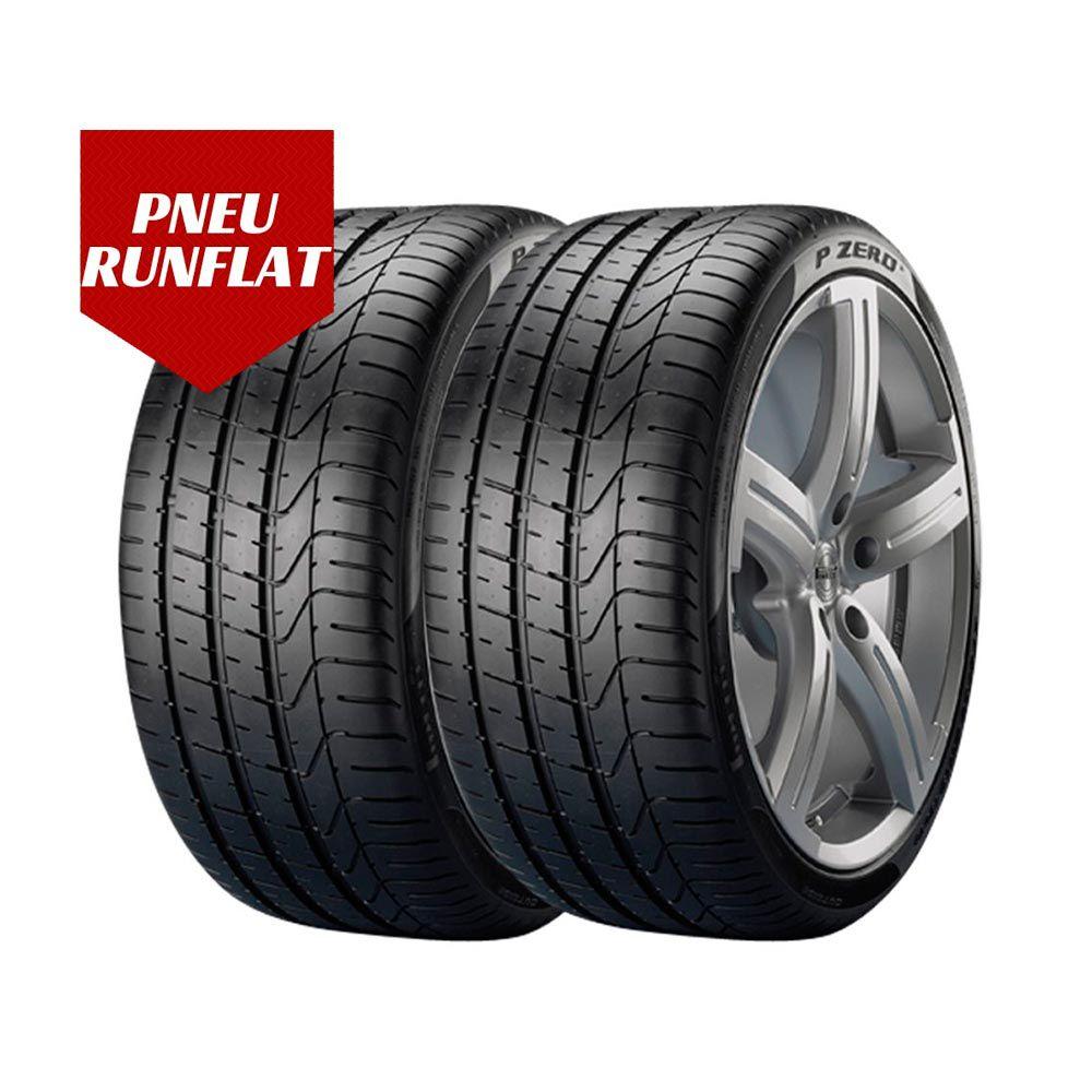 Kit 2 Pneus Pirelli Aro 17 225/45R17 Pzero Run Flat 91W