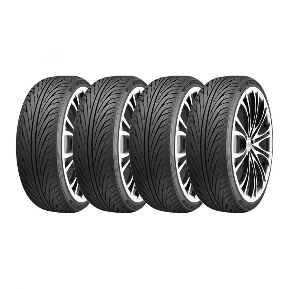 Kit 4 Pneus Nankang Aro 20 255/30R20 NS-2 92Y Dot 2017