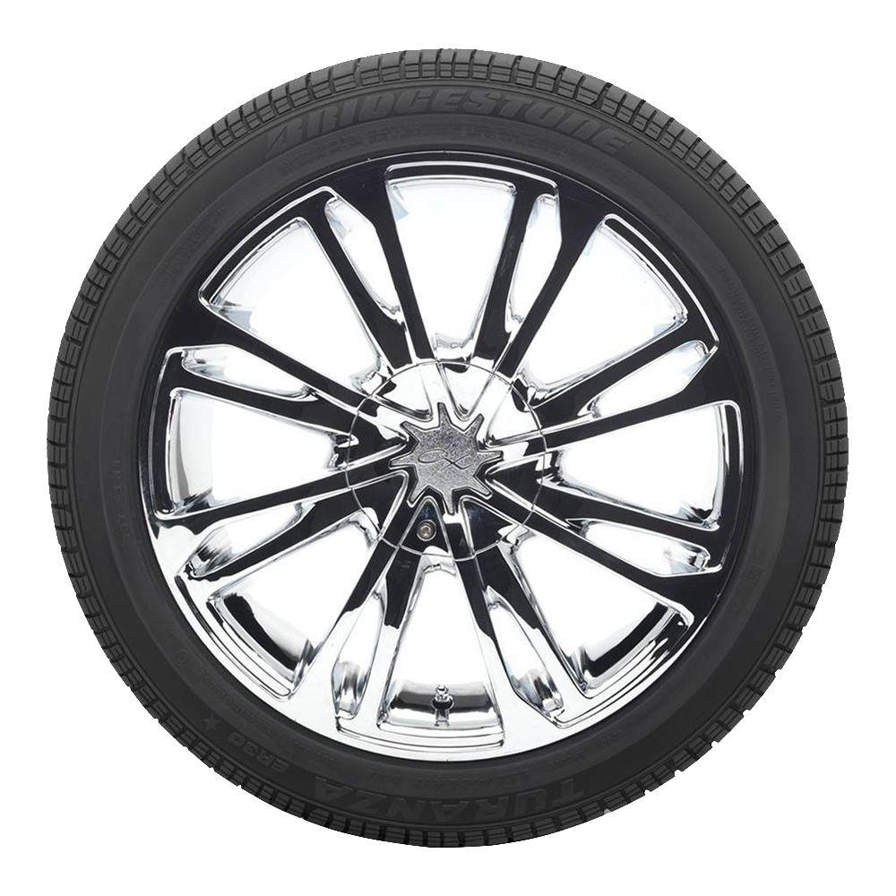 Kit 4 Pneus Para Ford Ka Bridgestone Aro 15 195/55R15 Turanza ER30 85H
