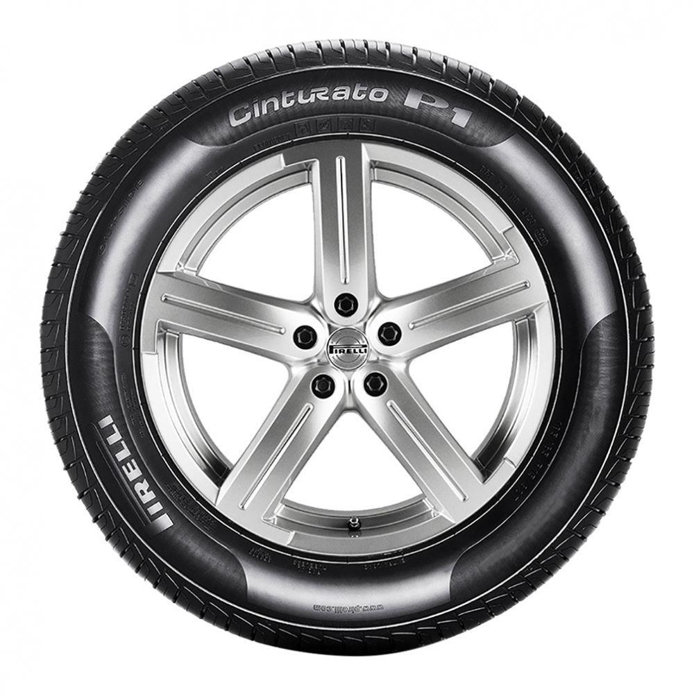 Kit 4 Pneus Para Volkswagen Polo Pirelli Aro 15 185/65R15 Cinturato P1 88H