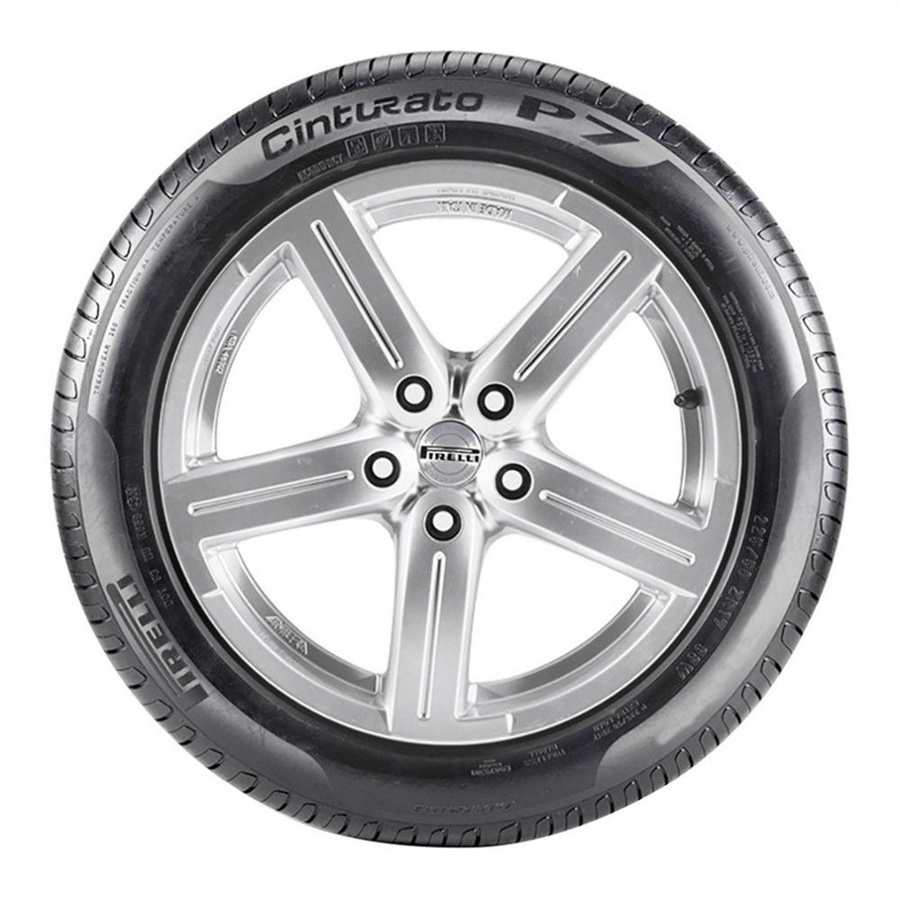 Kit 4 Pneus Pirelli Aro 17 225/45R17 Cinturato P7 Run Flat 91Y Dot 2015