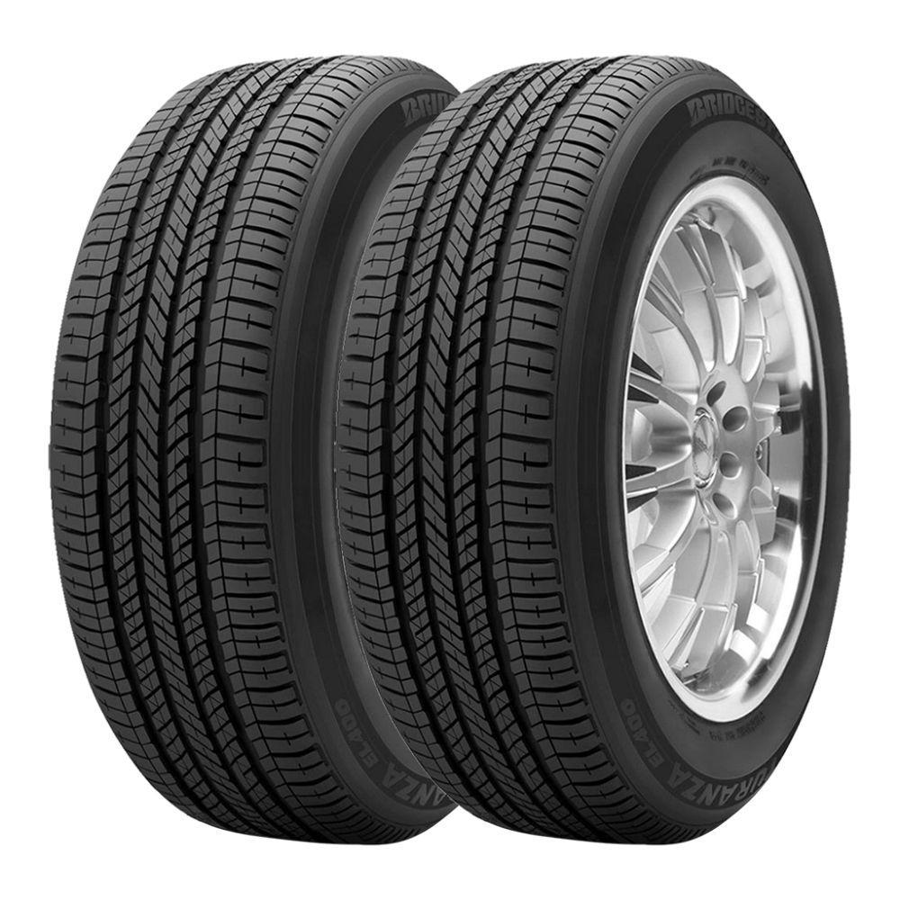 Kit com 2 pneus Bridgestone Turanza EL 400 Runflat 205/50R17 89H