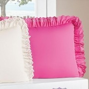 Kit Porta Travesseiro Padrão Anabelle 02 Peças - Pink