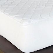 Protetor de Colchão Padrão Impermeável Casal Belga 01 Peça - Branco