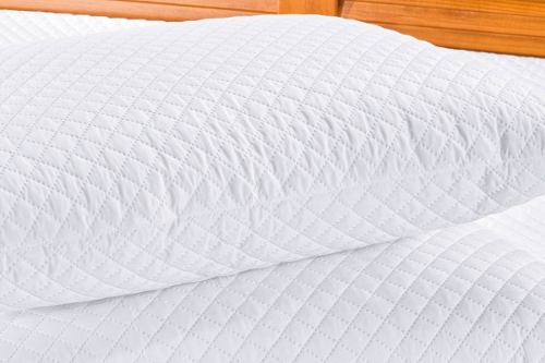 Kit Protetor De Travesseiro Impermeável Bia 02 Peças - Branco