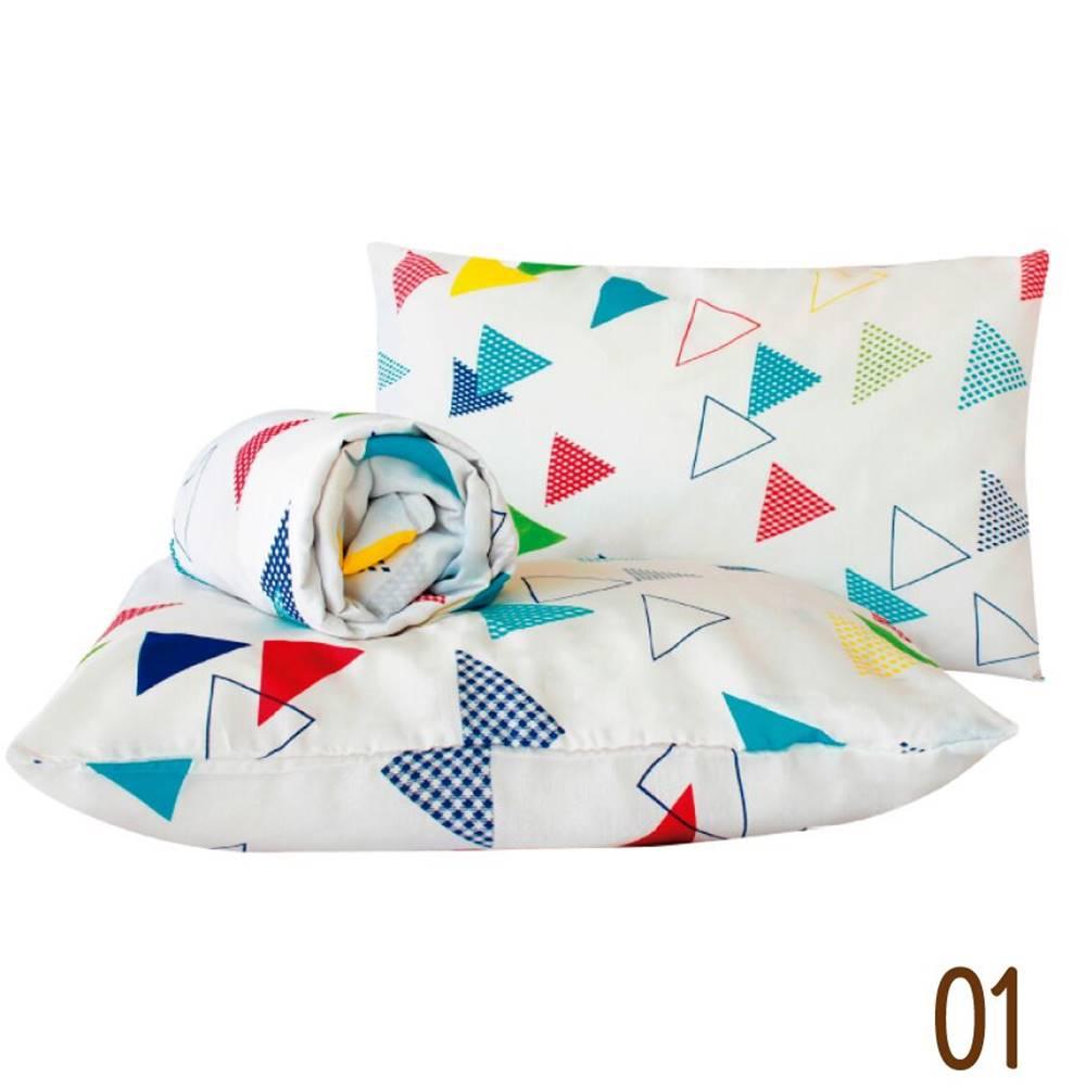 Jogo de Lençol Queen Marina Tecido Misto 03 Peças - Triangulos