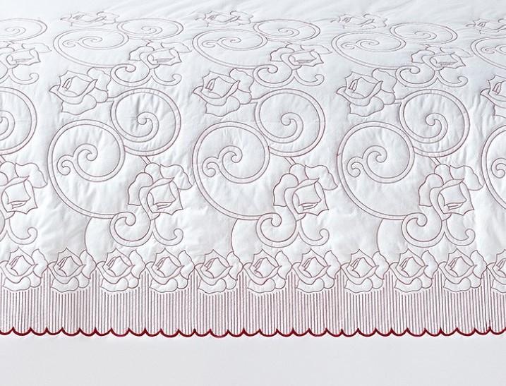 Kit Cobre Leito 150 Fios Queen Austi 05 Peças - Branco