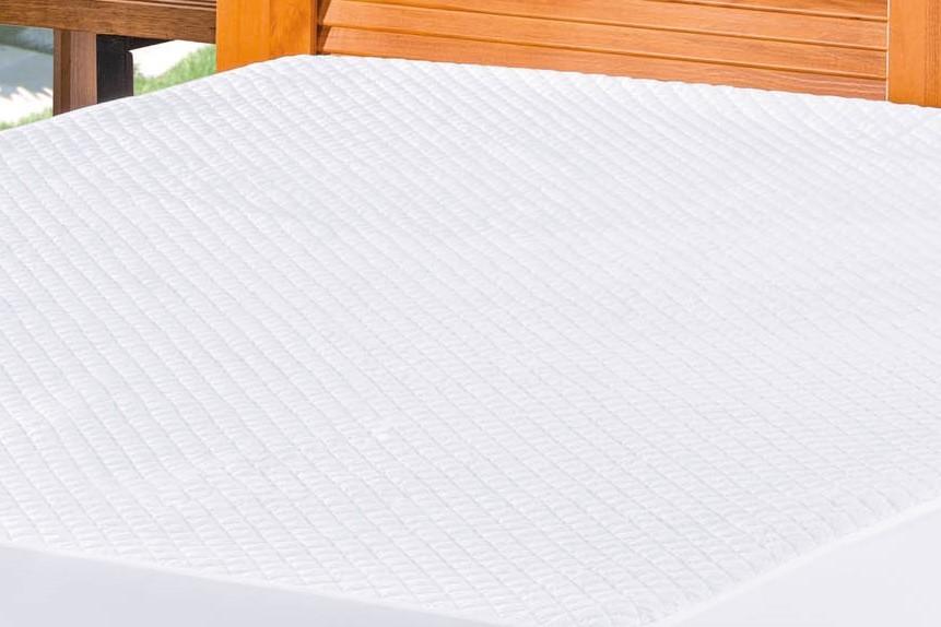 Protetor Impermeável Para Colchão Bia Queen - Branco