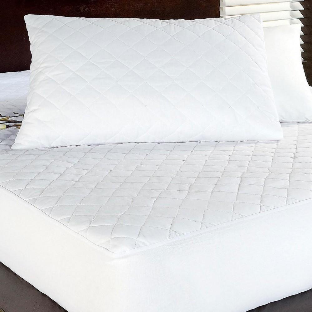 Protetor Travesseiro 140 Fios Logan 01 Peça - Branco