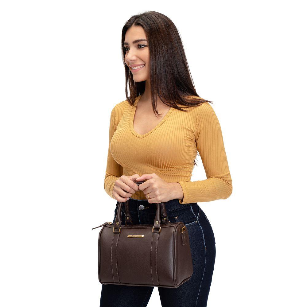Bolsa de Couro Feminina de Ombro Premium de alta Qualidade