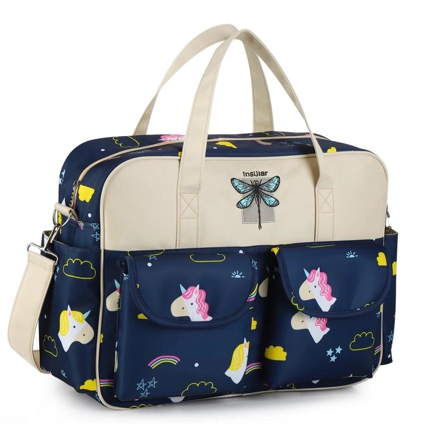 Bolsa de Maternidade Insular Com Design Exclusivo + Trocador
