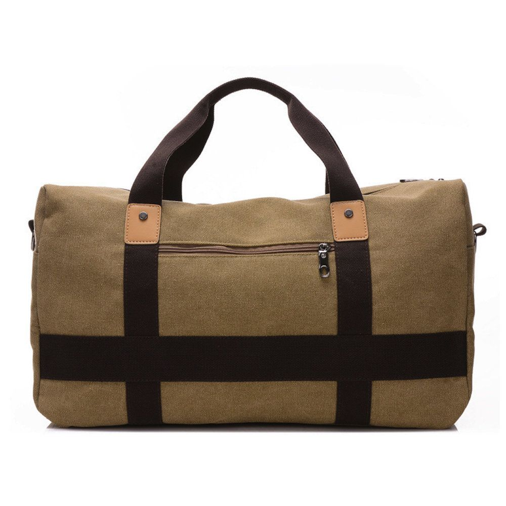 Bolsa de viagem de mão confeccionada em lona