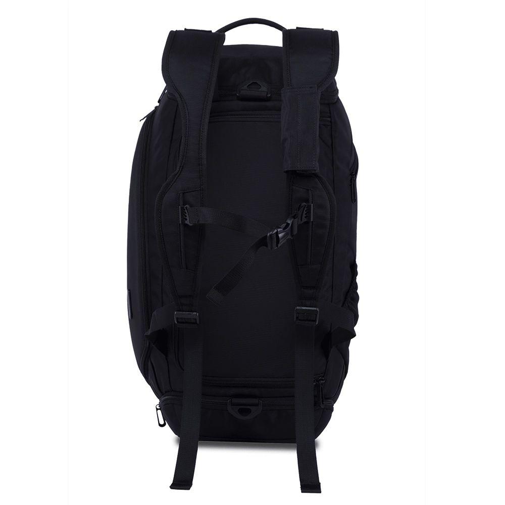 Bolsa de Viagem Multifuncional 4 em 1 Pequena Bag Mala de Bordo Compacta Com alça de Ombro Mochila Premium Impermeável Resistente de Alta Qualidade com Compartimento Exclusivo para Calçados e Perfumes